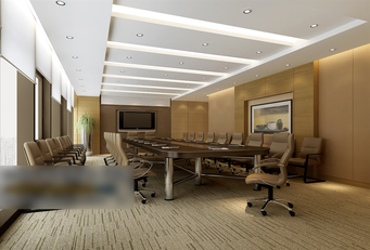3d models scene meeting room commercial look design download