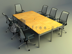 simple meeting table design download
