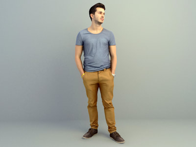 Free 3d Human Models Download