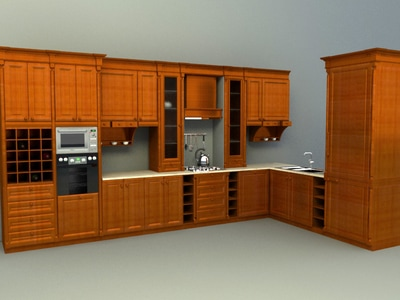 Kitchen accessories 3d models download collection for 3d kitchen cabinets