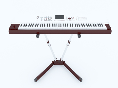 3D Model Keyboard Piano free download