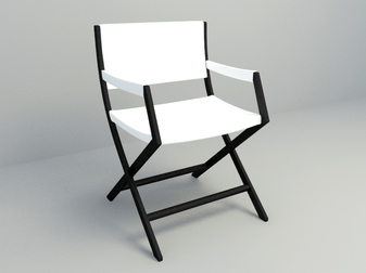 free 3D model outdoor chair free download