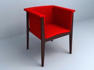 modern single sofa chair design