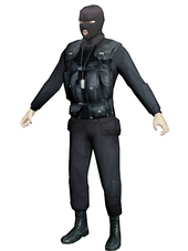 3d model character - commando free download