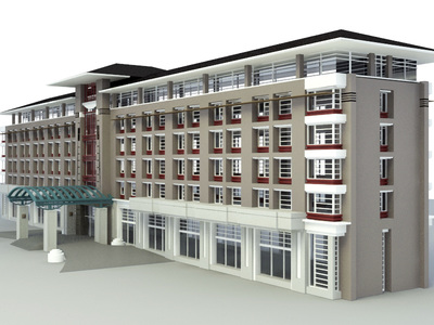 3d building models free download