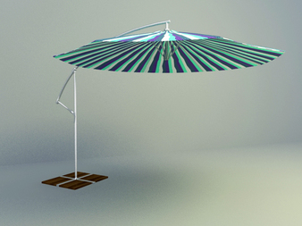 3d model parasol design download