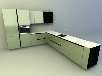 Model Kitchen kitchen accessories 3d models download collection - all3dfree