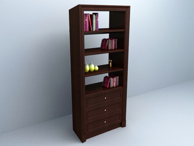 3D model Book Cabinet free download