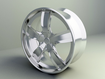 wheel rim 3d model free download