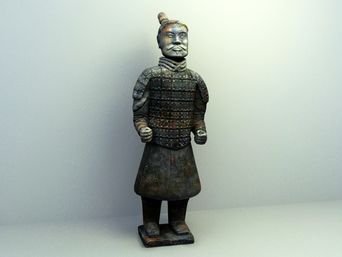 display decoration model , deco display design,chinese statue decoration