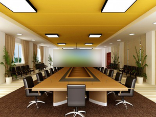 3d models scene meeting room high class commercial design download