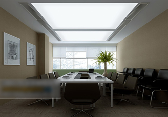 3d models scene meeting room small simple look design download