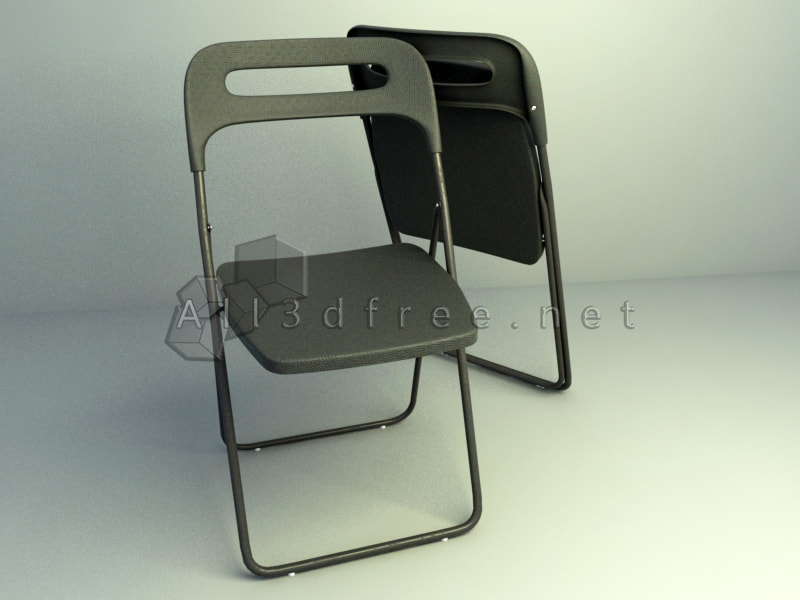 3d model of Folding Office Chair
