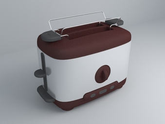toasters 3d model design