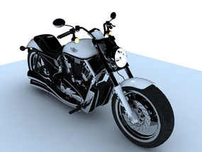 3dSkyHost: Motorcycle 3d model free download