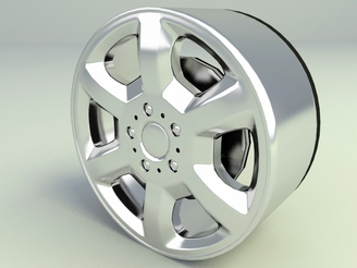 free 3d model car wheel rim download