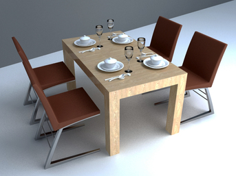 modern dining set design