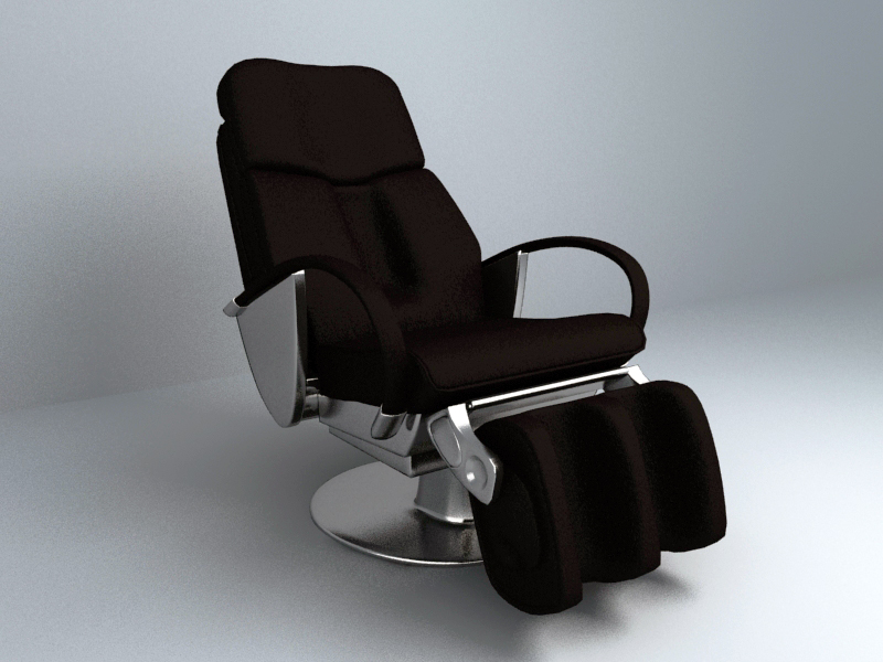 Massage Chair 3d Models Series Free Download Collection 009
