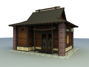 classical Chinese house 3d models