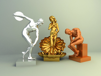 display decoration model , deco display design,metal figure decoration