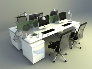 simple general office furnishing design download