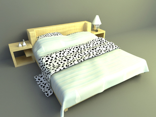 3d models bed free download, simple bed design
