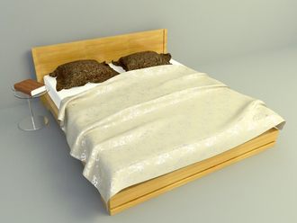 3d model bed free download, simple bed design download