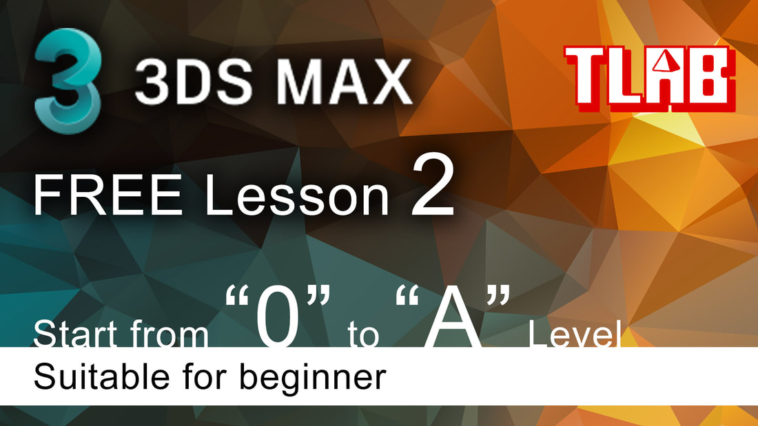 3ds max tutorial beginner - Interface and basic setting