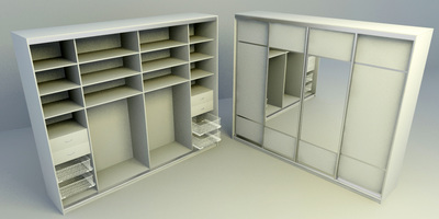 Cabinets- free download 3D models collection