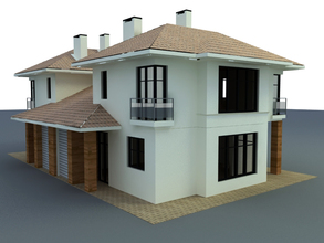free 3D Model House Building download