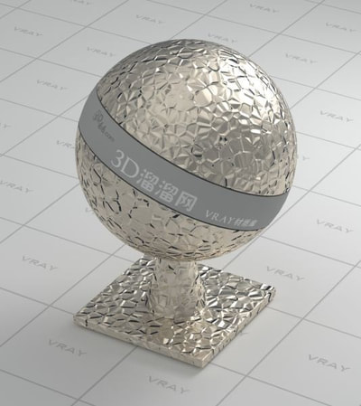 Metal Vray Materials Collection All3dfree Net