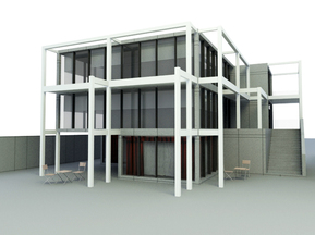 3d models House Building download