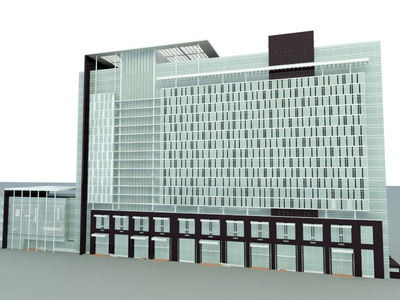 3d Max Building Model Free Download Corporate office