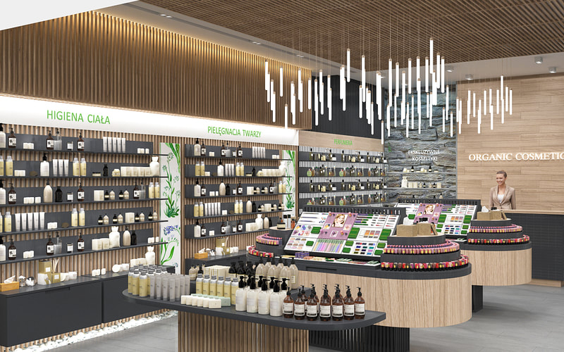 retail store for organic cosmetics 2