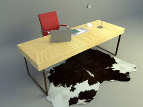 simple working table design download