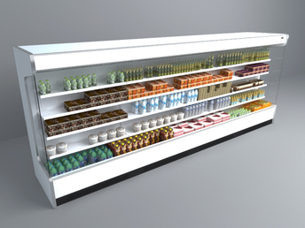 free 3D model supermarket Container 016
