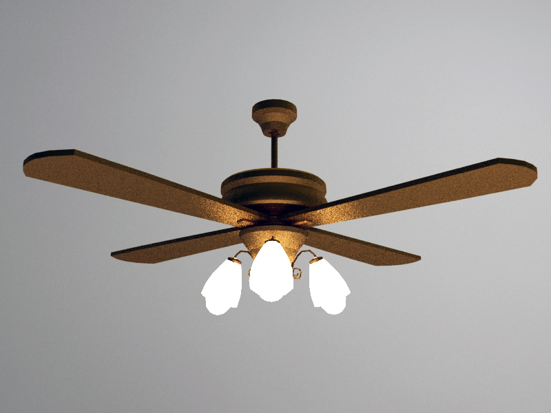 Fan Lamp 3d Models Download