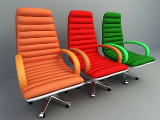 colorful lounge chair design