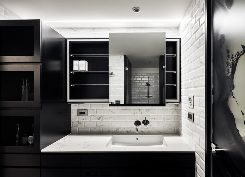 classic modern bathroom design style on all3dfree