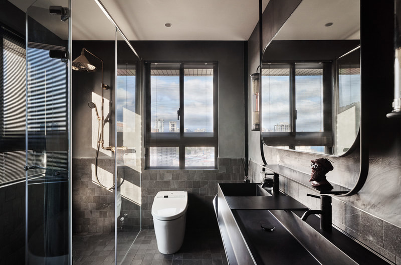 modern bathroom design on all3dfree