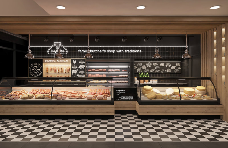 Bakery retail store design