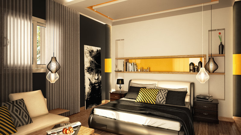 modern concept bedroom style