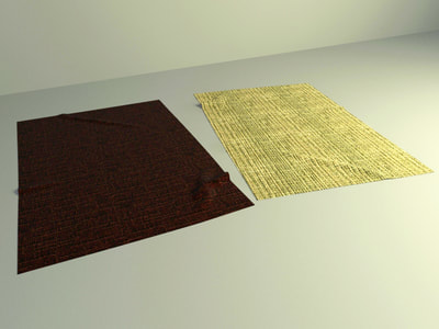 carpet 3d model free download 003