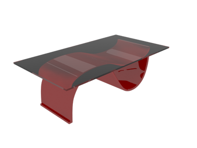 coffee table 3d model 001
