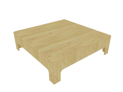 coffee table 3d model 012