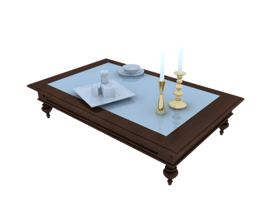 coffee table 3d model free download  007