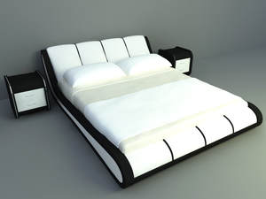 highclass concept design king size bed
