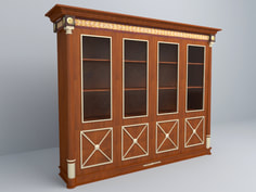 3D model Display Cabinet free download