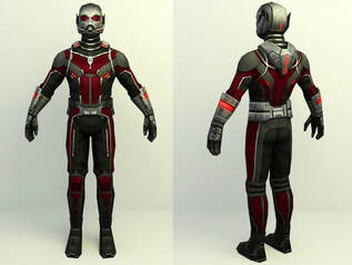 Marvel 3d character - Ant man