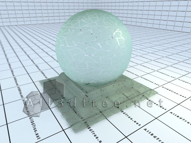 Vray materials Frosted glass collection 010
